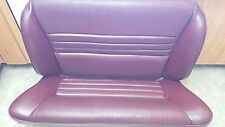 1988 Chrysler Lebaron Convertible Rear Seats