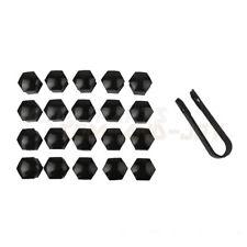 20pcs Black Color- Car Wheel Lug Nut Caps 17mm +Removal Tool For VW Audi Skoda