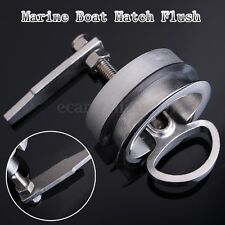 Stainless Steel Marine Boat Hatch Flush Pull Latch Lift Handle NON Locking