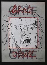 Jean René BAZAINE (1904-2001) ORTF 1968 affiche Ecole de Paris musée Carnavalet