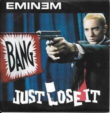 CD SINGLE 2 TITRES--EMINEM--JUST LOSE IT--2004