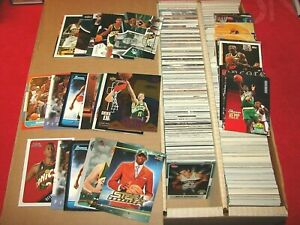 SEATTLE SUPERSONICS COLLECTION OF 1380 CARDS WITH ROOKIES (KBK-10)
