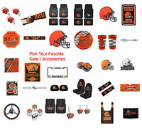 Brand New NFL Cleveland Browns Pick Your Gear / Accessories Official Licensed