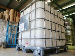 Depósito Contenedor IBC GRG 1000 litros (Usado una vez).