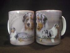 Tasse / Mug - motif chien  BERGER AUSTRALIEN BLEU MERLE