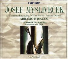 Myslivecek: Abramo e Isacco / Ivan Parik Filarmonica Praga - CD