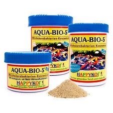 AQUA-BIO-5® Milchsäure-Bakterien Pulver für 150.000 L Koi Teich Filter Bakterien