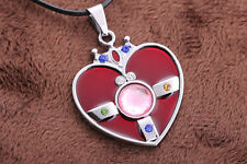 Sailor Moon S Cosmic Heart Cosplay Necklace Pendant Doll Prop Promotions