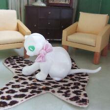 Vtg 50s 60s MAGNETO CAT GERMANY Figurine Dollhouse Animal Doll Pet BIG EYES Toy