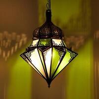 Hängeleuchte Inaya Weiß Hängelampe Lampe Marokkanisch Orientalische Leuchte