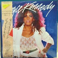 JOYCE KENNEDY: LOOKIN' FOR TROUBLE AMP-28113. 1984 Japan NM LP / Sleeve / OBI