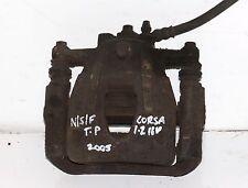 VAUXHALL CORSA C 1.2 16V TWINPORT 2005 PASSENGER SIDE FRONT BRAKE CALIPER