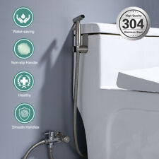 Handheld Toilet Seat Bidet Douche Spray Kit Shower Sprayer Set + 1.5 m Long Hose