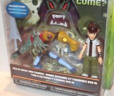 "✰ ULTIMATE Alien ✰ Ben 10 ✰ BEN & VILGAX  2-pack Comic & Exclusive 4"" Figure NEW"