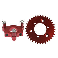 "CNC Red 36T Sprocket With 1.5"" Adapter Fits 60cc 66cc 80cc Motorized Bicycle"