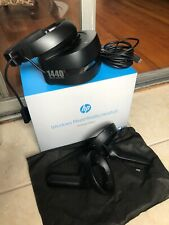 HP VR1000-100 Windows Mixed Reality Headset Complete Set Controllers Wires