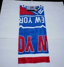 """Brand New NHL New York Rangers Full Size Beach And Home Decor Towel 30"""" X 60"""""""