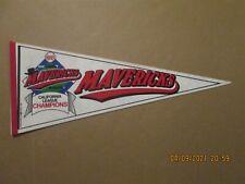 California League High Desert Mavericks Vintage 1991 Champions Logo Pennant