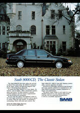 """1989 SAAB 9000 CD AD A4 POSTER GLOSS PRINT LAMINATED 11.7""""x8.3"""""""