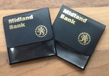 COMMEMORATIVE £5 COIN COLLECTORS CASE / HOLDER (MIDLAND BANK - HSBC) - ONE ONLY)