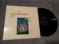 Robert Frost Reads His Poetry LPCaedmon TC1060 1957 VG+