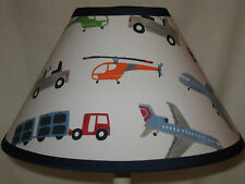Brody Vehicles Fabric  Lamp Shade M2M Pottery Barn Kids Bedding