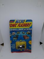 Vintage RARE New 1989 Majorette Micro Sonic Flashers 500 SL #1313