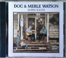 DOC & MERLE WATSON - DOWN SOUTH - RYKODISC / SUGARHILL - 1986 CD