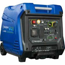 Westinghouse iGen4500DF Dual-Fuel Inverter Generator - Black/Blue