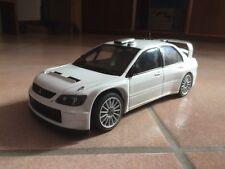 Mitsubishi Lancer Evolution Evo Wrc 05 Plain Body White Autoart 1 18