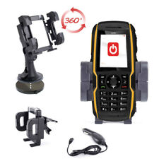 Car Support/Holder/Mount 3 in 1 For Sonim XP1300 Core Phone With 12V Charger