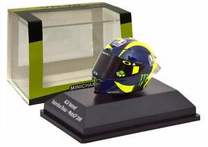 Minichamps Valentino Rossi AGV Helmet MotoGP 2018 - 1/8 Scale