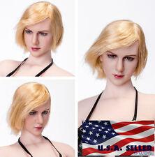 1/6 American Female Head KIMI KT009 Short Hair Melissa Benoist For Phicen ❶USA❶