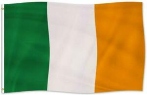 Large Ireland Irish Flag Heavy Duty Outdoor IE 90x150cm - 3x5ft