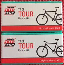 2 x TiP ToP TT 01 Tour Flickzeug Fahrrad Reifen Reparatur Set