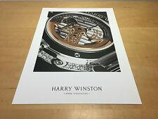 Press Release HARRY WINSTON - The Excenter Biretro - English - For Collectors