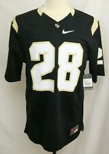 New University Of Central Flordia Knights UCF Black Nike Football Jersey Men's M