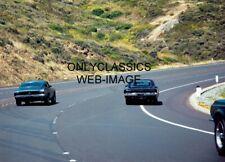 1968 BULLITT MOVIE STREET CHASE MUSTANG GT RACING AROUND DODGE CHARGER 5X7 PHOTO