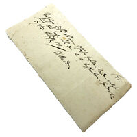 Authentic 1700's European Document Legal Work Paper Handwritten Old Manuscript J