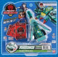 Turning Mecard W Chirrmaemi Green / Transformer Robot Car Toy Korean Kids -Nu