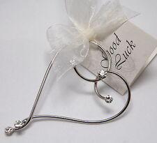 Wedding Good Luck Charm Bridal Keepsake - Unique Aussie Heart Crystal Design