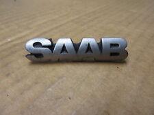 """SAAB GRILLE EMBLEM ORNAMENT """" SAAB """"  OEM # 4481271"""