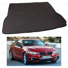Anti Scrape Leather Car Trunk Mat Carpet Fit for BMW 4-Series Coupe 2014-2017