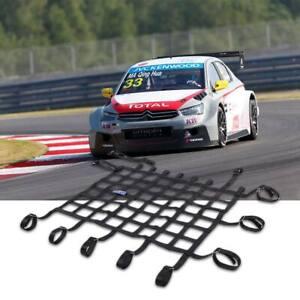 Unicersal Racing Car Window Net Window Safety Equipment Nylon Webbing Black