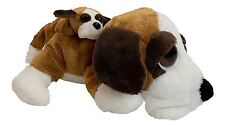 """Lil Peepers 11""""Brandy St Bernard Dog with Baby Childrens Gift 08063, 86063"""
