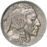 1913 Buffalo Nickel Type 1 Raised Mound Uncirculated US Coin