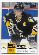 18/19 UPPER DECK SERIES 1 JAGR YEARS Hockey (#JJ1-JJ24) U-Pick From List