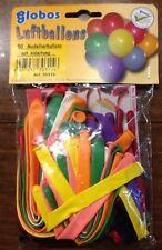 50 Modellierballons bunt mit Anleitung - Globos - Neu