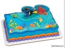 Finding Dory Nemo Cake Decoration Party Supplies TOPPER KIT Favor Ocean Movie NW