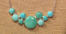 """Jay King Campitos Turquoise 18"""" Sterling Silver Necklace Gallery Collection NWT"""